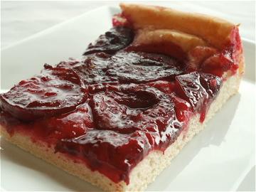 slice of plum cake