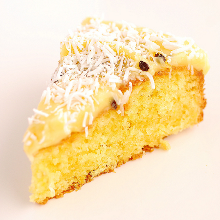 Passion Fruit & Coconut Cake | Pease Pudding