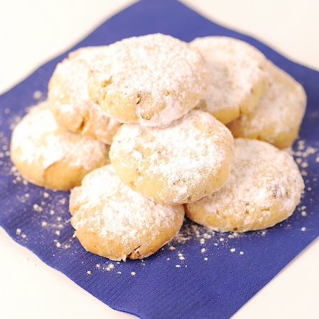 Almond & Orange Blossom Cookies | Pease Pudding